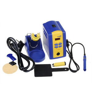 Fx 951 220v Eu Plug Solder Soldering Iron Station With Tip