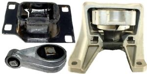 3pc Transmission Engine Mounts For 2003 2007 Ford Focus 2 3l Auto Fast Shipping
