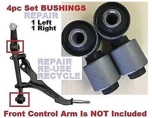 4pc Front Lower Control Arm Busing For 1992 1995 Honda Civic 93 97 Civic Del Sol
