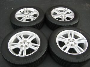 2010 2014 Ford Mustang Oem 17 Inch Wheels Rims Tires W Center Caps