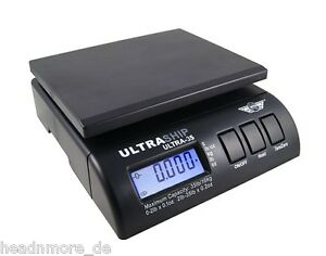 Myweigh Ultraship35 Parcel Scale Black Package Shipping Letter