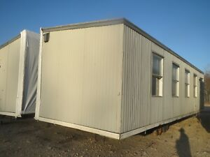24x38 Double wide Modular Classroom Trailer Building Wrapped Ready For Haul