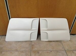 1969 Pontiac Firebird Trans Am Fiberglass Side Scoops Pair