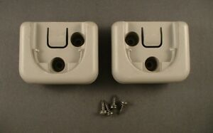 Toyota 4runner 2002 Cargo Cover Brackets Holders Pair With Screws