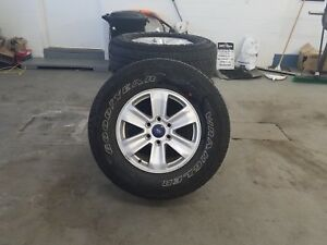 18 Inch 2017 Ford F 150 Fx4 Wheels And Tires Rims 2015 2017 set Of 4