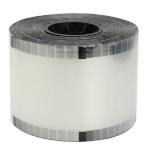 Clear Cup Seal Film Roll 3275 Cups 90 105mm For Cup Seal Ring Machine B