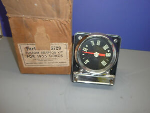 Nos 1955 Ford Radio Custom Adaptor Dial Kit