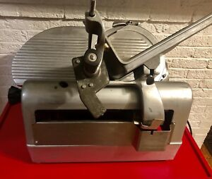 Rebuilt Hobart 1712 Automatic 2 Speed Meat cheese Deli Slicer
