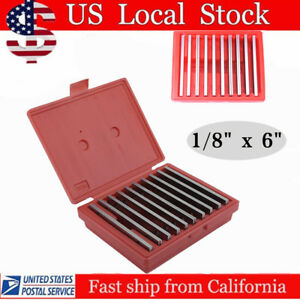10 Pair Parallel 6 Long 0 0002 Hardened 1 2 To 1 5 8 1 8 Steel Parallel Set