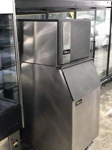 Ice o matic 606lbs Cube Ice Machine Normal Discharge
