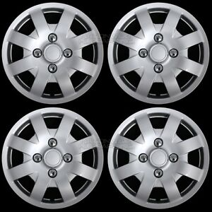 4 Fits Nissan Sentra 2000 2002 14 Wheel Covers Hub Caps R14 Tire Size Steel Rim