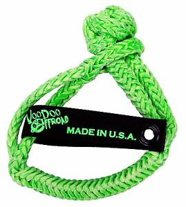 Voodoo Offroad Green Synthetic Rope Soft Shackle 1 2 X 8