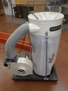 W1666 Shop Fox 2 Hp Dust Collector Used