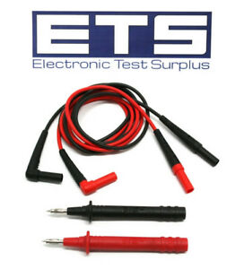 Fluke Tl224 Voltage Probe Test Lead Set