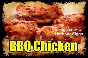 Decal choose Your Size Bbq Chicken Food Truck Sticker Restaurant Concession