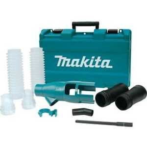 Makita 196858 4 Sds max Drilling Demolition Dust Extraction Attachment Kit New