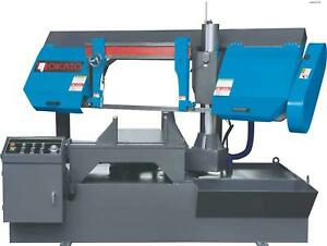 Nokato Mitering Metal Cutting Band Saw Post Style 4hp 11 15