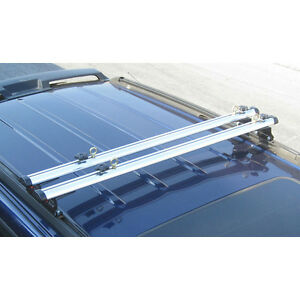 Black J1000 Ladder Roof Van Rack 60 Cross Bar Fits Factory 1 Tracks