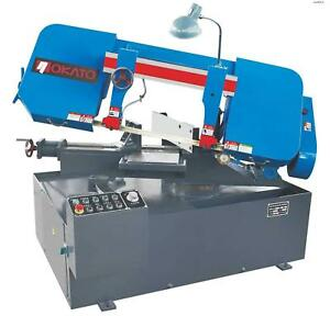 Nokato Mitering Metal Cutting Bandsaw 4hp 9 13 Semi automatic