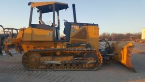 2012 John Deere 650k Xltdozer 2800 Hrs 6 Way Blade New Seald U c Rippers