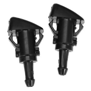 2pcs New Windshield Washer Nozzle Sprayer For Ram 1500 2500 55077460aa 4805742ab