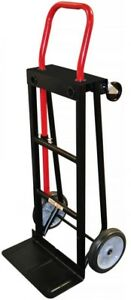 Hand Truck Milwaukee Convertible 300 500 Lb Capacity Dolly Push Cart Trolley