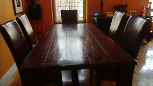 Table Solid Wood Dining Conference Room Table