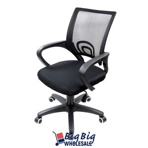 Black Pe Ergonomic Swivel Mesh Computer Office Chair Desk Task Midback Task
