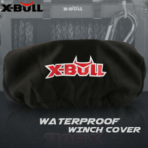 X Bull Waterproof Winch Cover Soft Dust Cover Fit 9500 13000lbs Winch Accessory