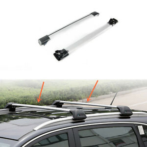 2pcs Aluminum Cross Bar Roof Cargo Luggage Rack For Subaru Tribeca 2008 2014
