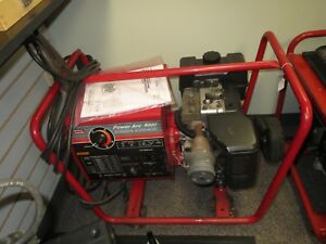 Lincoln Welder Generator Power Arc 4000 W Manual Local Pick Up Only