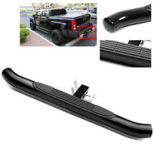 37 3 Tube Truck Suv Pickup Black Trailer Tow Hitch Step Bar For 2 Receiver