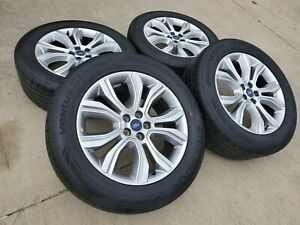 20 Ford Edge Limited Oem 2014 Gray Wheels Rims Tires 2011 2012 2013