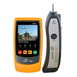 Gm61 Lcd Monitor Cctv Tester Security With Adsl Detection Camera
