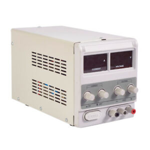 305d Variable Linear Adjustable Lab Dc Bench Power Supply 0 30v 0 5a