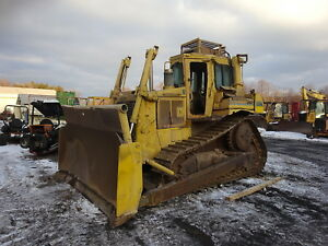 Caterpillar D6h Crawler Dozer Mint U c Runs Exc 3306 Cat D6 Hi Track Bulldozer