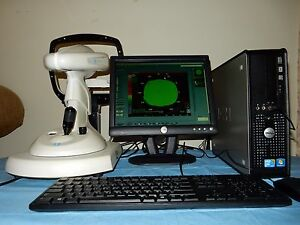 Nidek Magellan Topographer Corneal Mapper With Computer Navis Software