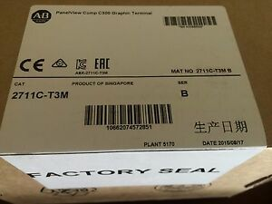 Allen Bradley 2711c t3m Panelview Comp C300 Series B Quantity Units Available