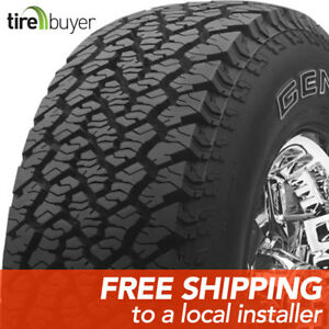 2 New Lt235 75r15 C General Grabber At2 235 75 15 Tires