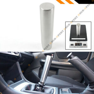 5 Long Grip Stainless Steel Heavy Weighted Shift Gear Knob Selector For Honda