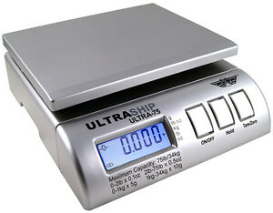 Digital Scale Myweigh Ultra75 Ultraship Package Letter 75lbs