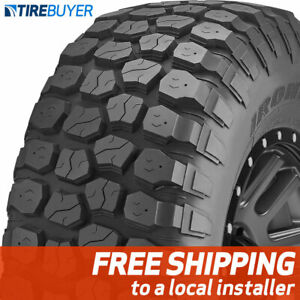 1 New 37x12 50r20 E Ironman All Country Mt Mud Terrain 37x1250 20 Tire M T
