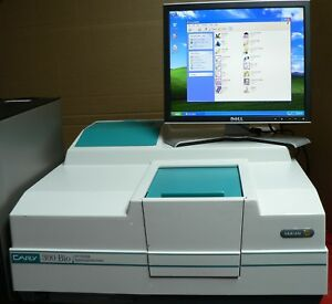 Complete Varian Cary 300 Bio Uv visible Spectrophotometer With Pc software