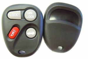 New Case Only Black Replacement Shell For Corvette Koblear1xt Keyless Remote Fob