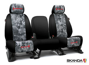 Coverking Kryptek Raid Camo Neosupreme Front Seat Covers For Toyota Tacoma