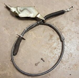 87 93 Mustang Gt Aod 5 0 Automatic Floor Shift Cable Shifter Linkage Oem