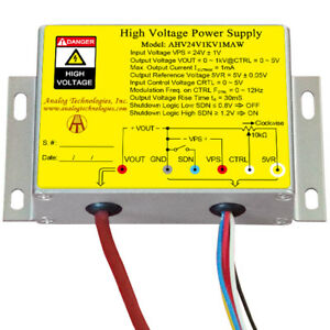High Voltage Power Supply Dc dc Conversion Ahv24v1kv1maw Free Ship From Usa New
