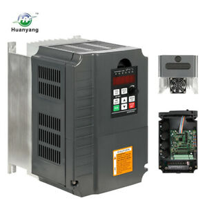Hot Brand Huanyang 220v Inverter 7 5kw Variable Frequency 10hp 34a Drive Vfd