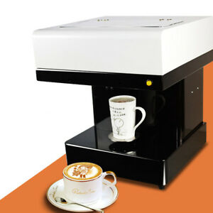 Diy Art Coffee Drinks Printer Machine Chocolate Cake Milkshake Food Printer 220v