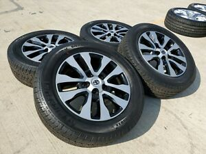 20 Toyota Tundra Sequoia Oem Tss Trd Wheels Rims Tires 2016 2017 2018 2019 New
